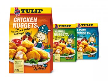 Tulip Wickie Chicken Nuggets Range